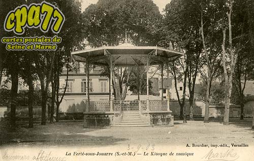 La Ferté Sous Jouarre - Le Kiosque de musique