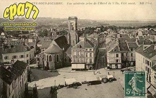 La Ferté Sous Jouarre - Vue générale prise de l'Hôtel de Ville, Côté ouest