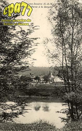 La Ferté Sous Jouarre - Un coin de Marne à la Bergette