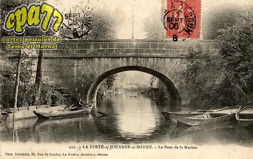 La Ferté Sous Jouarre - Le Pont de la Nation