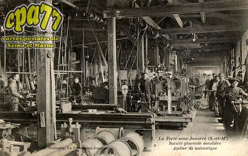 La Ferté Sous Jouarre - Société Générale meulière - Atelier de mécanique