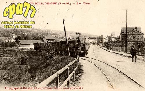 La Ferté Sous Jouarre - Rue Thiers