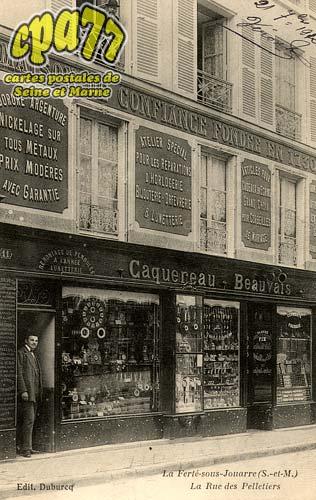La Ferté Sous Jouarre - La Rue des Pelletiers