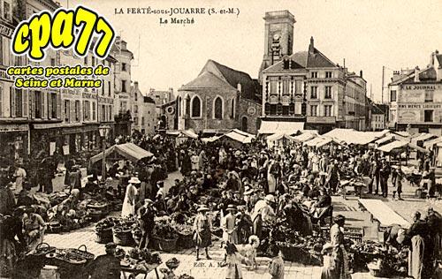 La Ferté Sous Jouarre - Le Marché