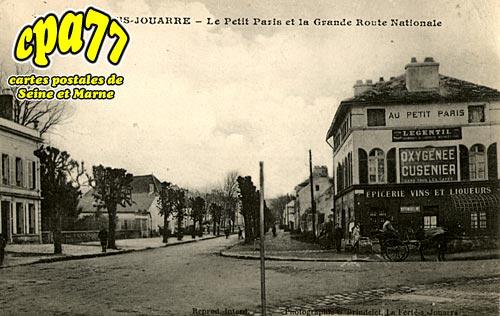 La Ferté Sous Jouarre - Le Petit Paris et la Grande Route Nationale