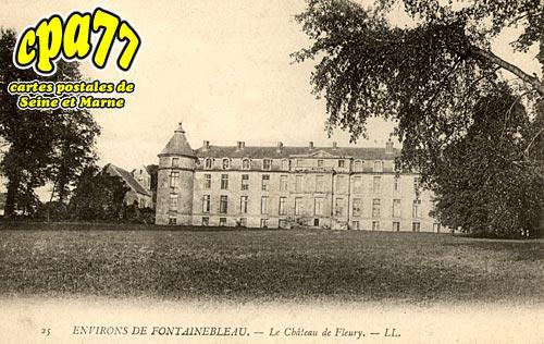 Fleury En Bière - Le Château de Fleury