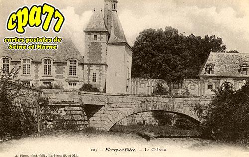Fleury En Bière - Le Château