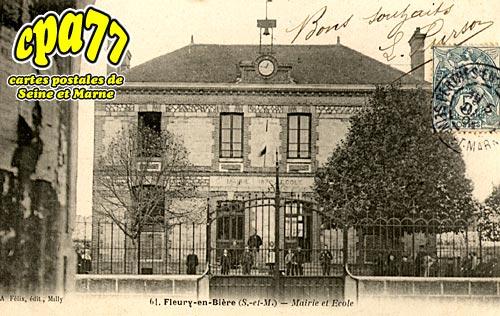 Fleury En Bière - Mairie et Ecole
