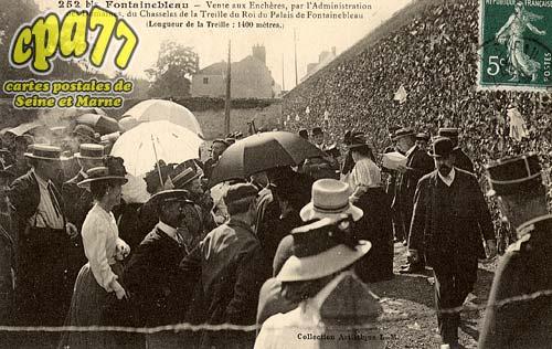 Carte postale ancienne de fontainebleau 77 vente aux ench res par l 39 - Vente aux encheres des domaines de l etat ...