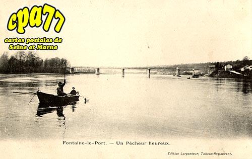 Fontaine Le Port - Un Pêcheur heureux