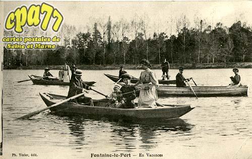 Fontaine Le Port - En vacances