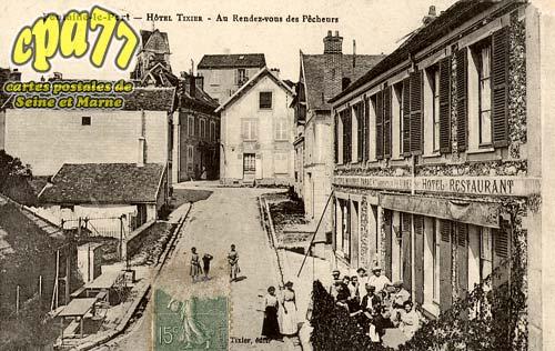 Fontaine Le Port - Hôtel Tixier - Au Rendez-vous des Pêcheurs