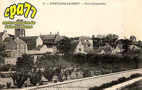 Fontaine Le Port - Vue d'Ensemble