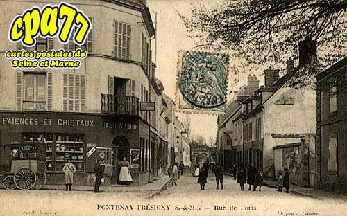 Fontenay Trésigny - Rue de Paris