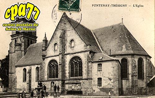 Fontenay Trésigny - L'Eglise