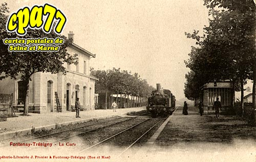 Fontenay Trésigny - La Gare (en l'état)