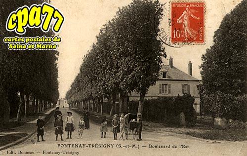Fontenay Trésigny - Boulevard de l'Est