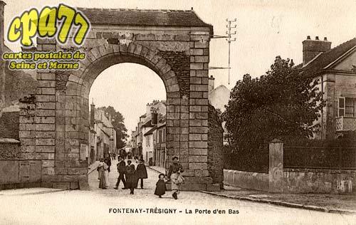 Fontenay Trésigny - La Porte d'en Bas