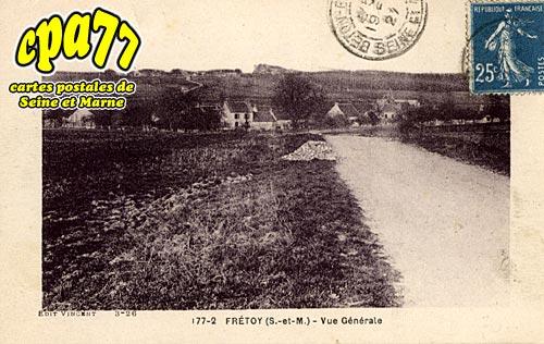 Frétoy Le Moutier - Vue générale