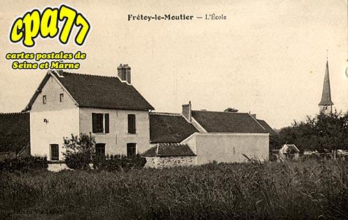 Frétoy Le Moutier - L'Ecole