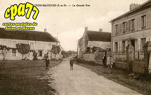 Frétoy Le Moutier - La Grande Rue