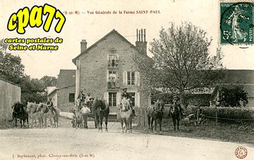 Frétoy Le Moutier - Vue Générale de la Ferme Saint-Paul