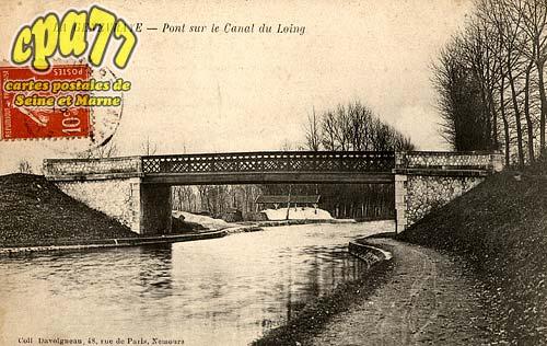 La Genevraye - Pont sur le Canal du Loing