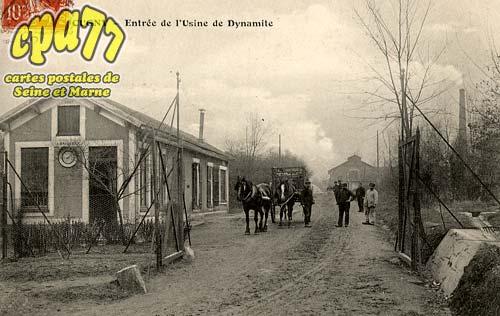 La Genevraye - Entrée de l'Usine de Dynamite