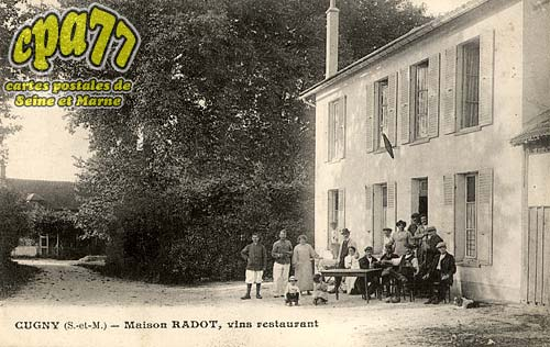La Genevraye - Cugny - Maison Radot, vins restaurant