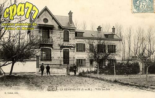 La Genevraye - Villa des Iris
