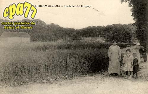 La Genevraye - Entrée de Cugny