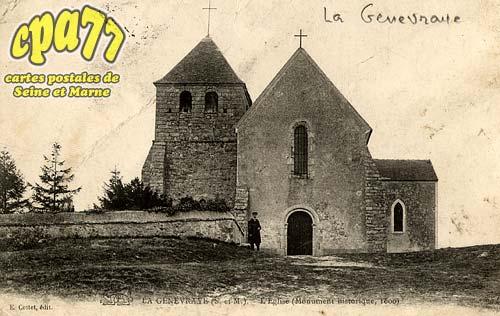 La Genevraye - L'Eglise - Monument historique (1600)