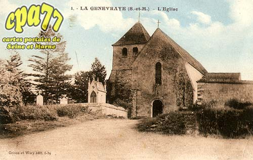La Genevraye - L'Eglise