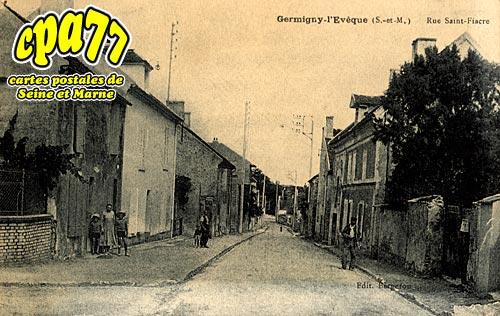 Germigny L'évêque - Rue Saint-Fiacre