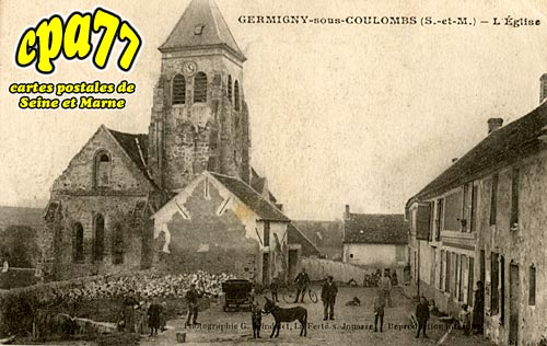 Germigny Sous Coulombs - L'Eglise