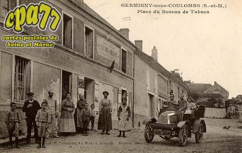 Germigny Sous Coulombs - Place du Bureau de Tabacs
