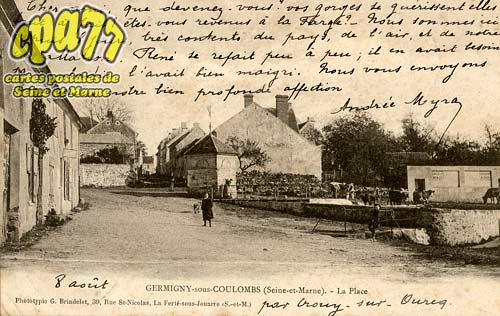 Germigny Sous Coulombs - La Place