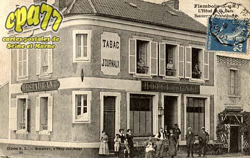 Gouaix - L'hôtel de la Gare - Barbette, Propriétaire