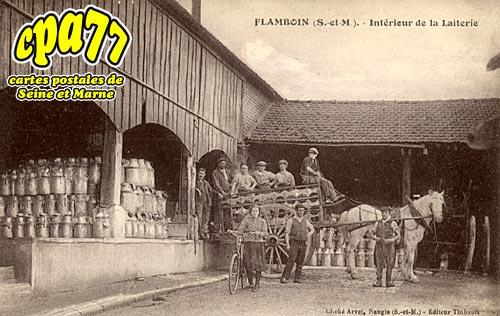 Gouaix - Flamboin - Intérieur de la Laiterie