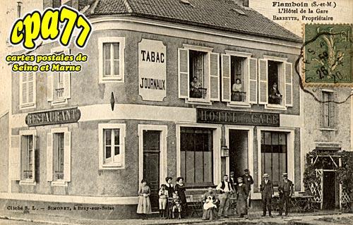 Gouaix - Flamboin - L'Hôtel de la Gare - Barbette, propriétaire
