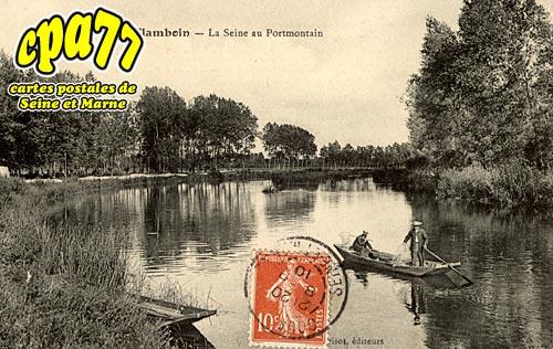 Gouaix - Flamboin - La Seine au Portmontain