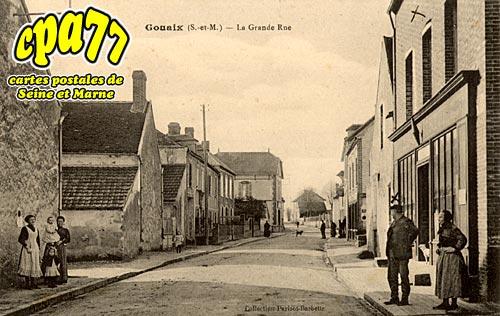 Gouaix - La Grande-Rue