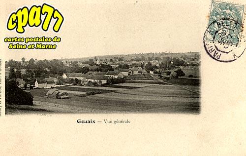 Gouaix - Vue générale