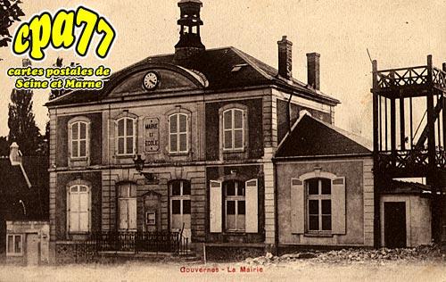 Gouvernes - La Mairie