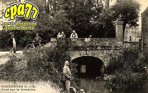 Gouvernes - Pont sur la Gondoire