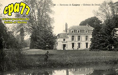Gouvernes - Château de Deuil