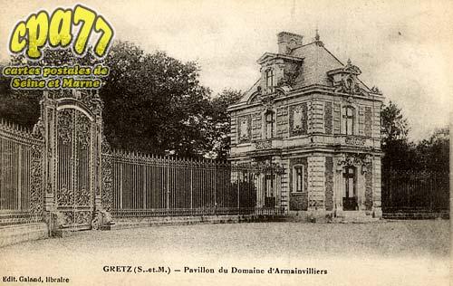 Gretz Armainvilliers - Pavillon du Domaine d'Armainvilliers
