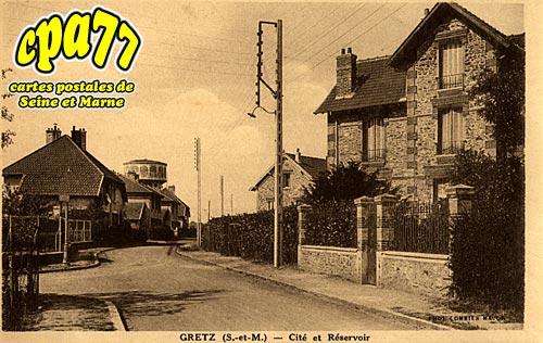 Gretz Armainvilliers - Cité et Réservoir