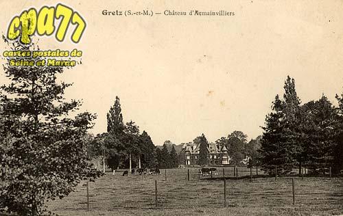Gretz Armainvilliers - Château d'Armainvilliers