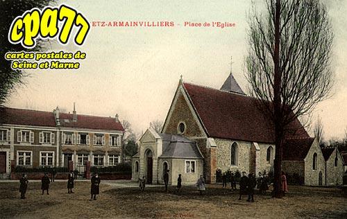 Gretz Armainvilliers - Place de l'Eglise